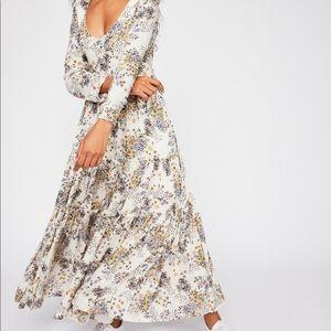 🔴NWOT Free People Fall In Love Maxi Dress